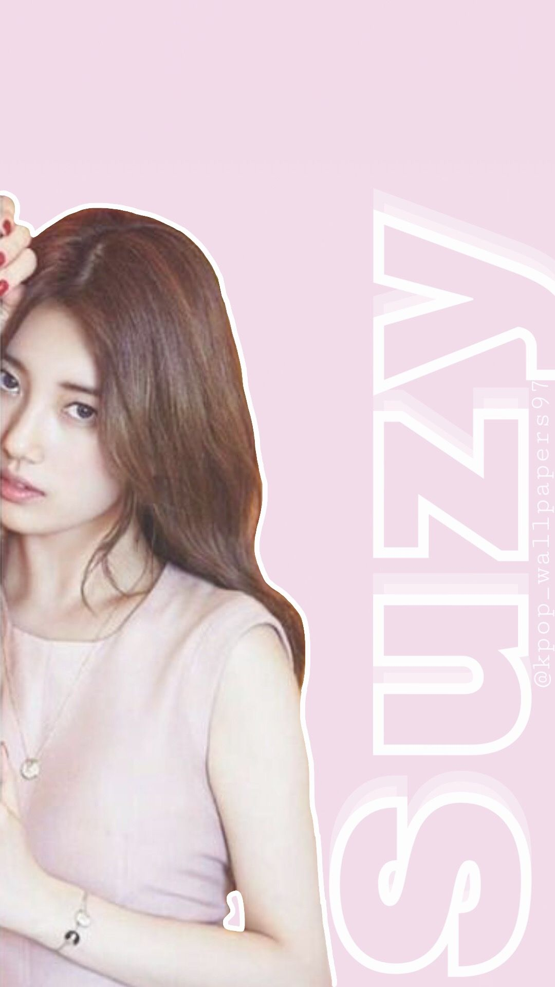 Suzy suzy baesuzy pink suzywallpaper suzyedit jyp kpop 1080x1920