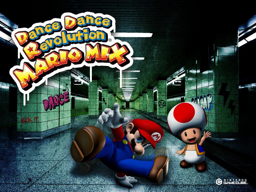 Dance Dance Revolution Mario Mix   Toad Wallpaper 6040348 1024x768