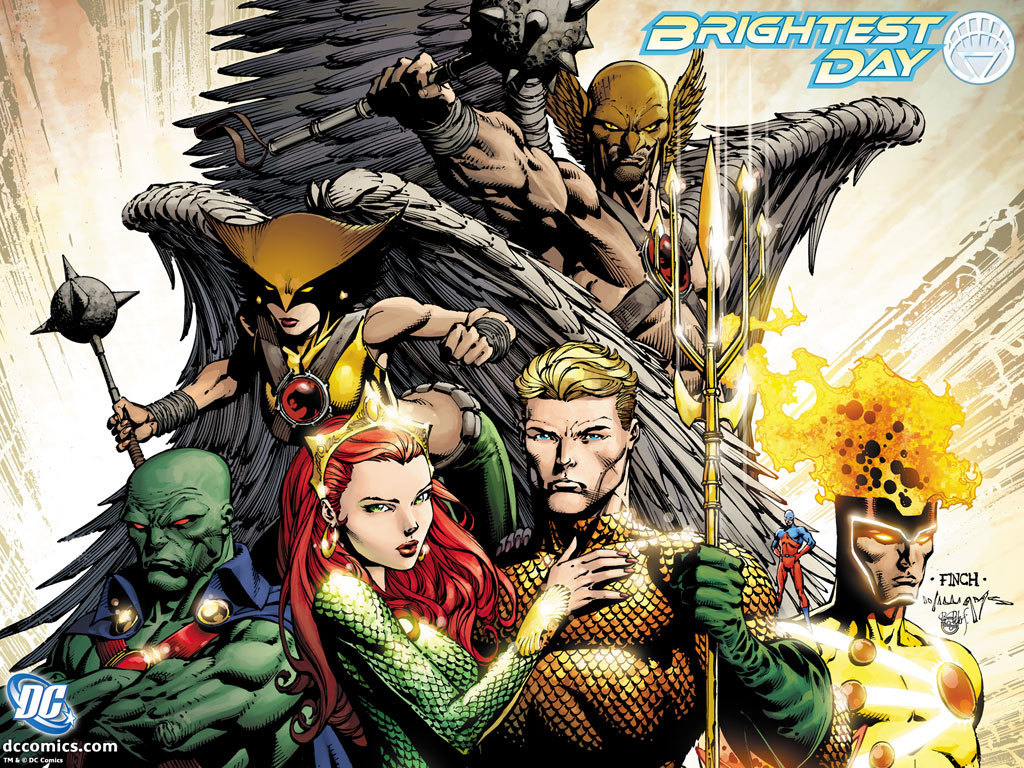 DC Comics Brightest Day 1024x768