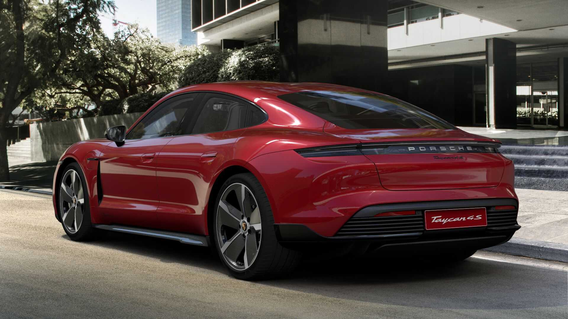 Most Expensive 2020 Porsche Taycan 4S Costs 195870 1920x1080