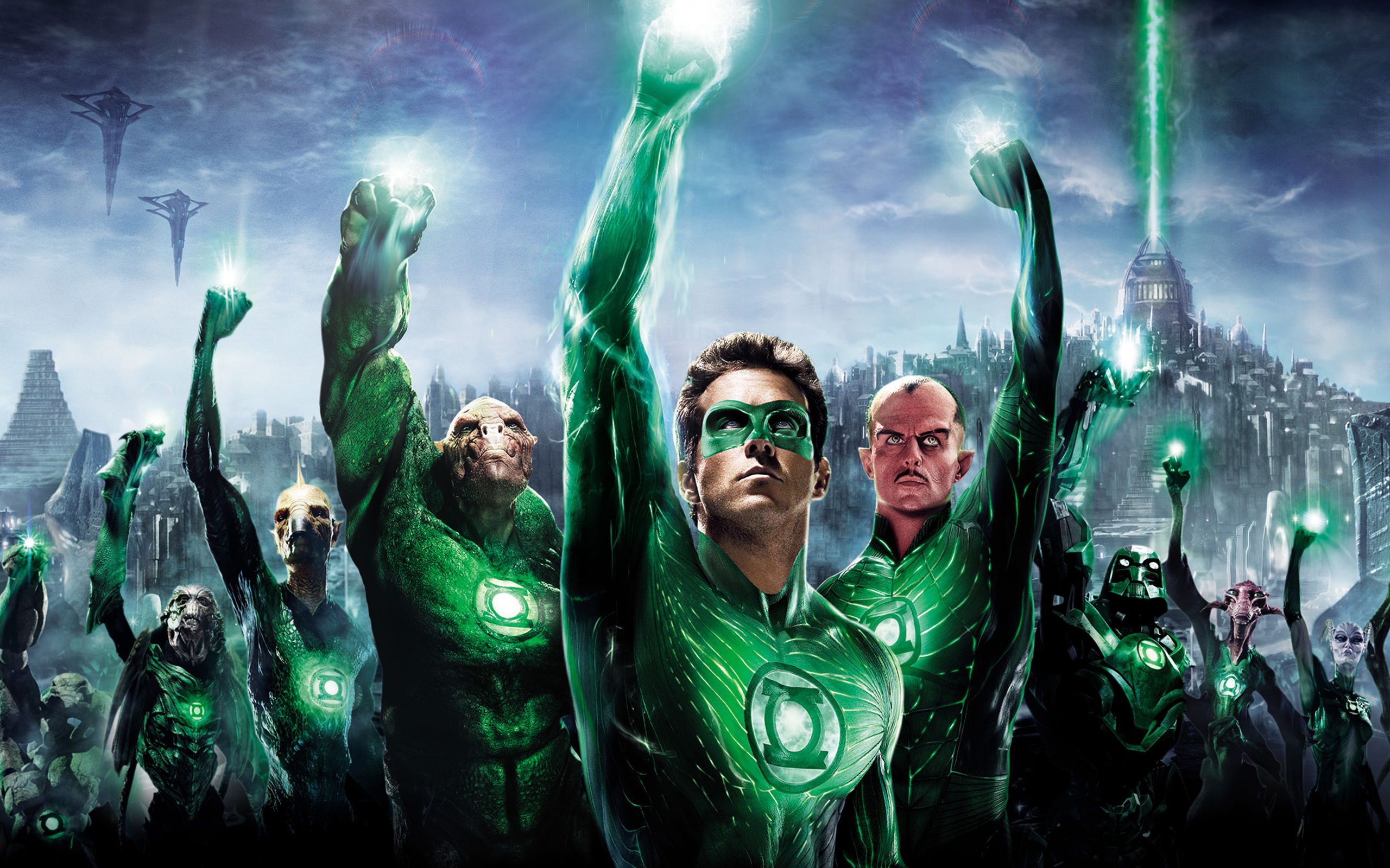 Green Lantern Wallpapers Best HD Desktop Wallpapers Widescreen 2560x1600