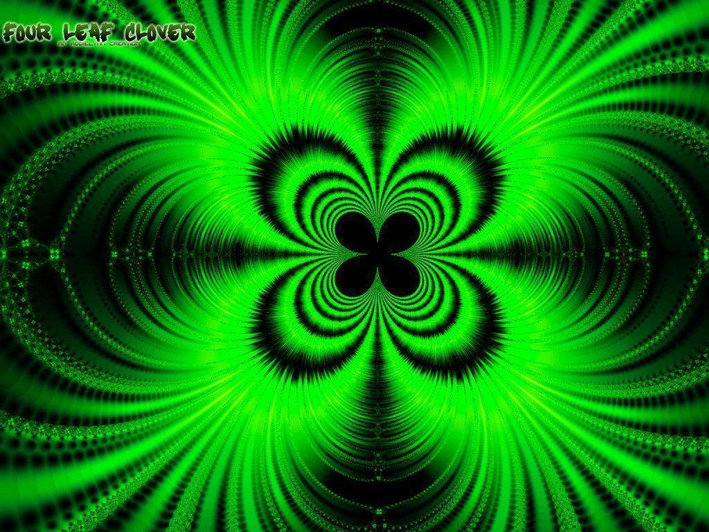 Four Leaf Clover Wallpapers 1024x768