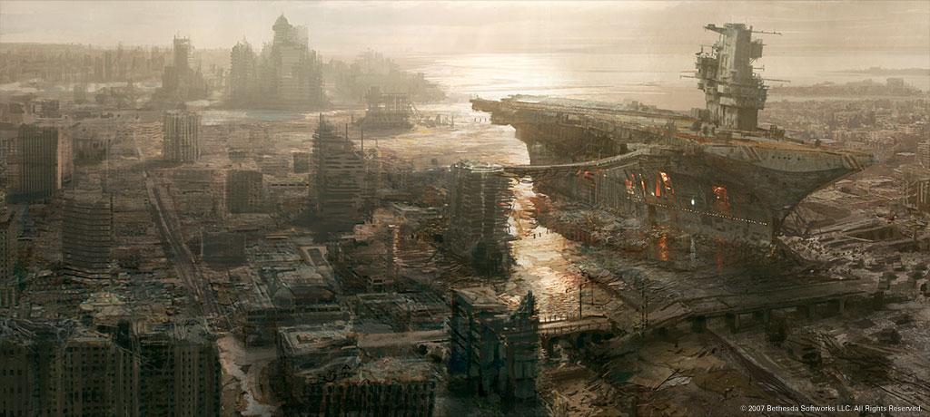 Krispekreme Fallout 3 Concept Art 1024x460