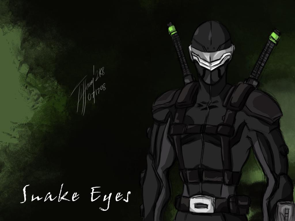 72 Gi Joe Snake Eyes Wallpaper On Wallpapersafari