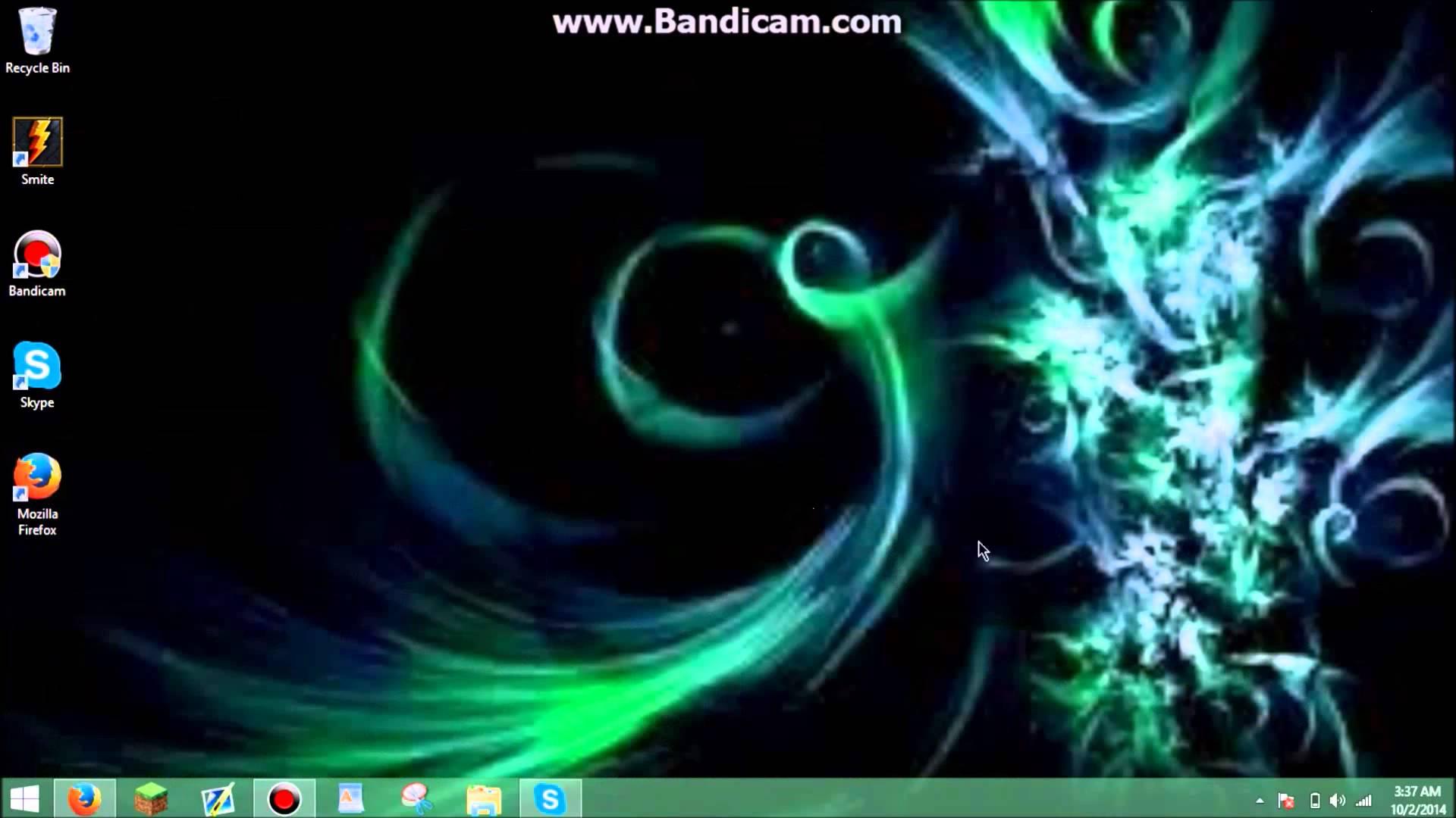 Desktop Background Looks Blurry