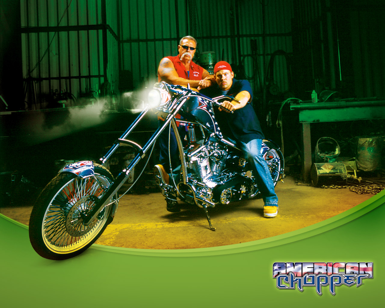 American chopper   Orange County Choppers Wallpaper 124425 1280x1024