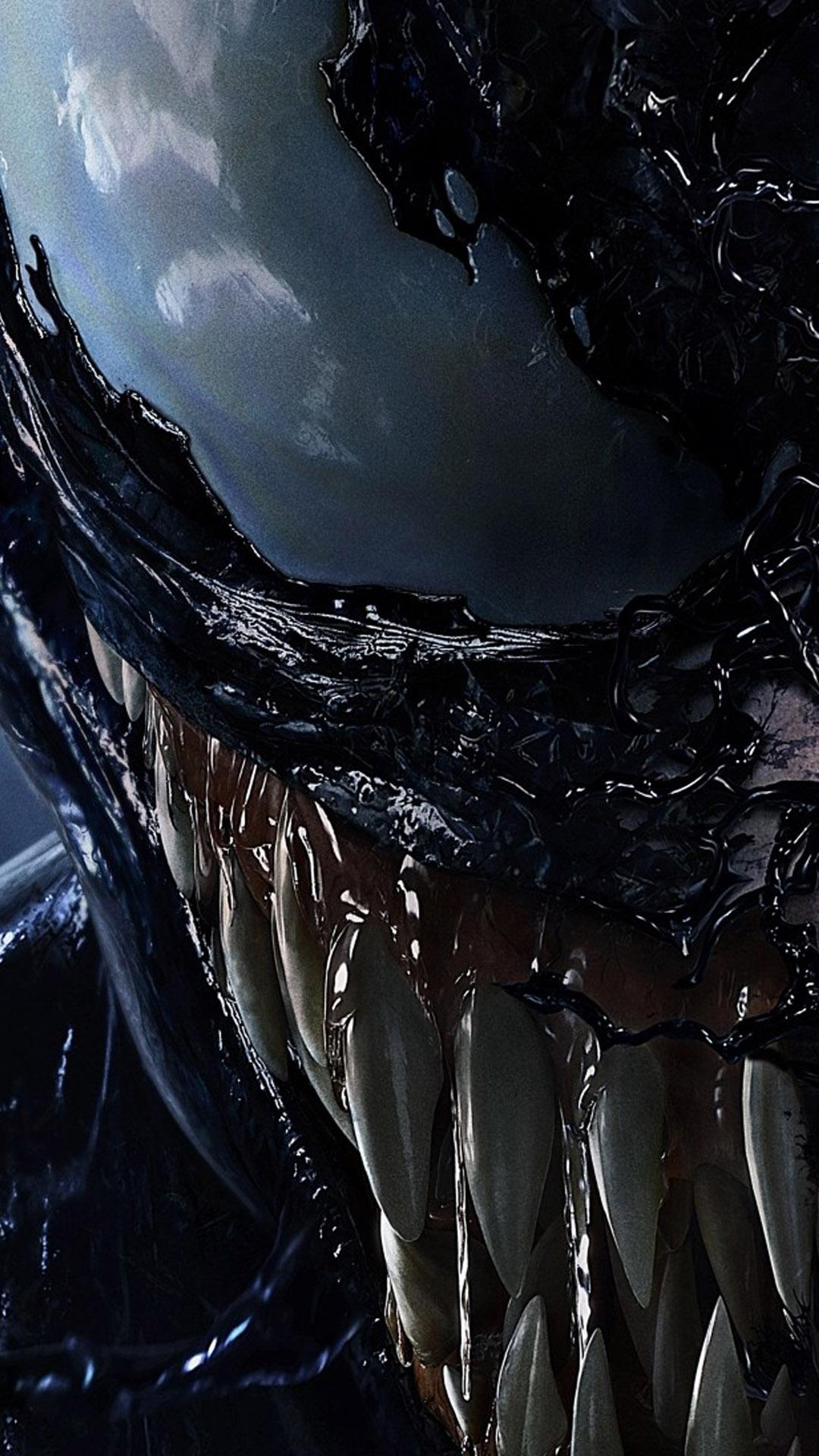 Venom Marvel Comics Movie 4K Ultra HD Mobile Wallpaper 1080x1920