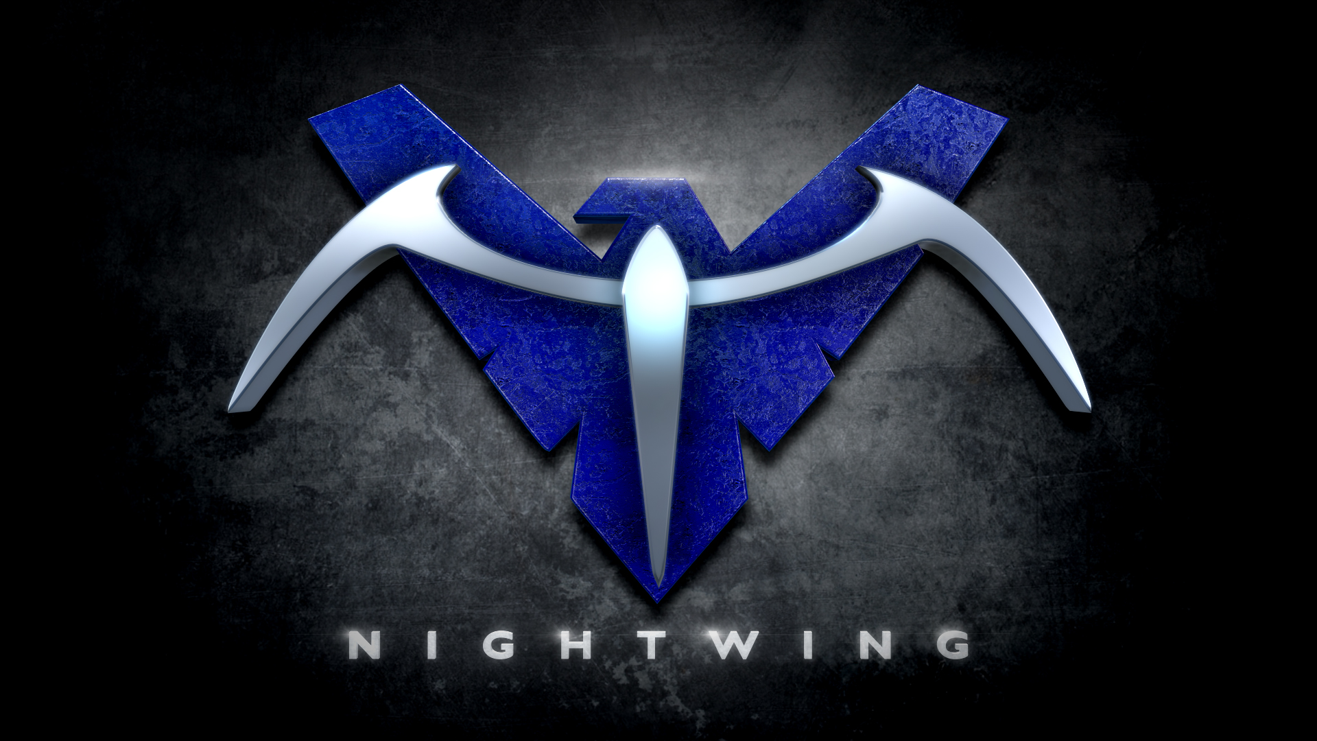 Image Gallery nightwing logo wallpaper