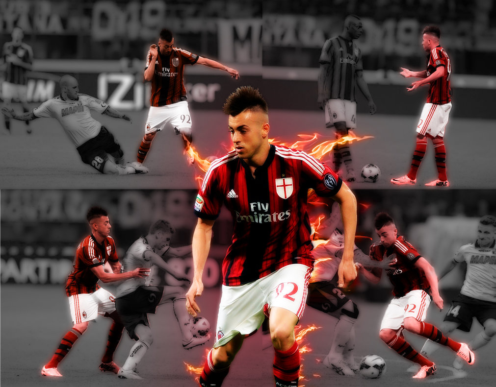 El Shaarawy AC Milan Wallpaper by RicardoDosSantos 1011x790