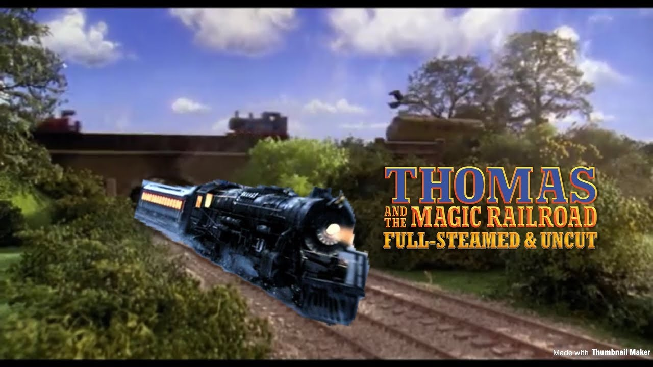 Thomas and the Magic Railroad Chase w Polar Express Themes 1280x720