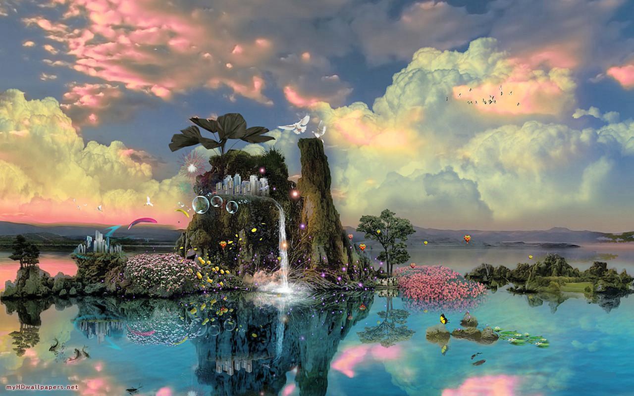 Free Download Fantasy Wallpaper Nature Live Hd Wallpaper Hq