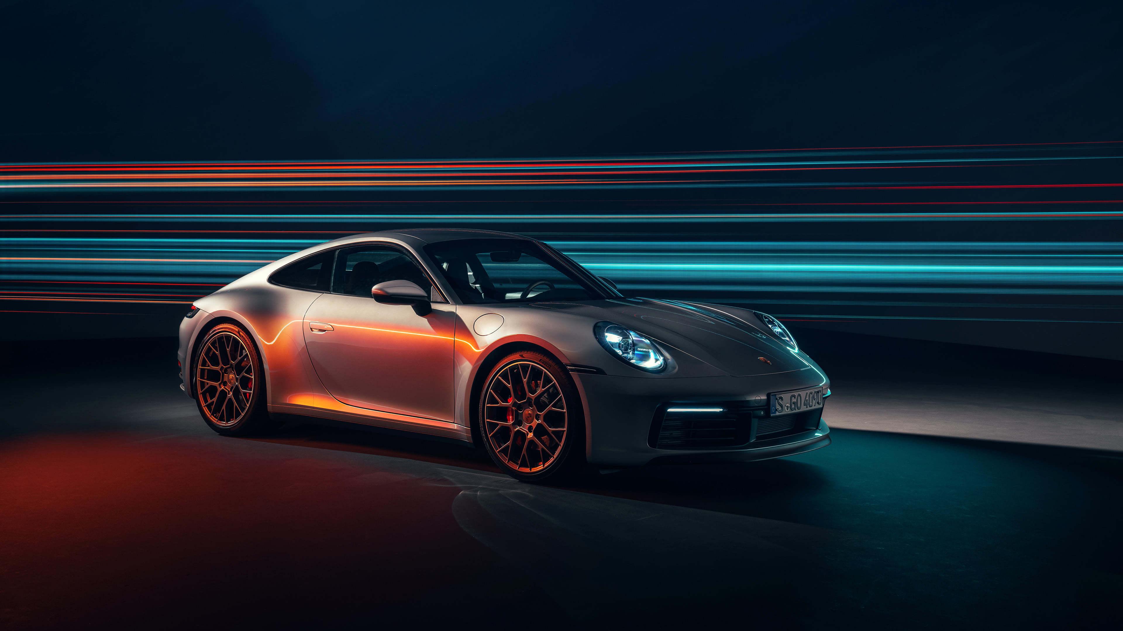 Porsche 911 Carrera UHD 4K Wallpaper Pixelz 3840x2160