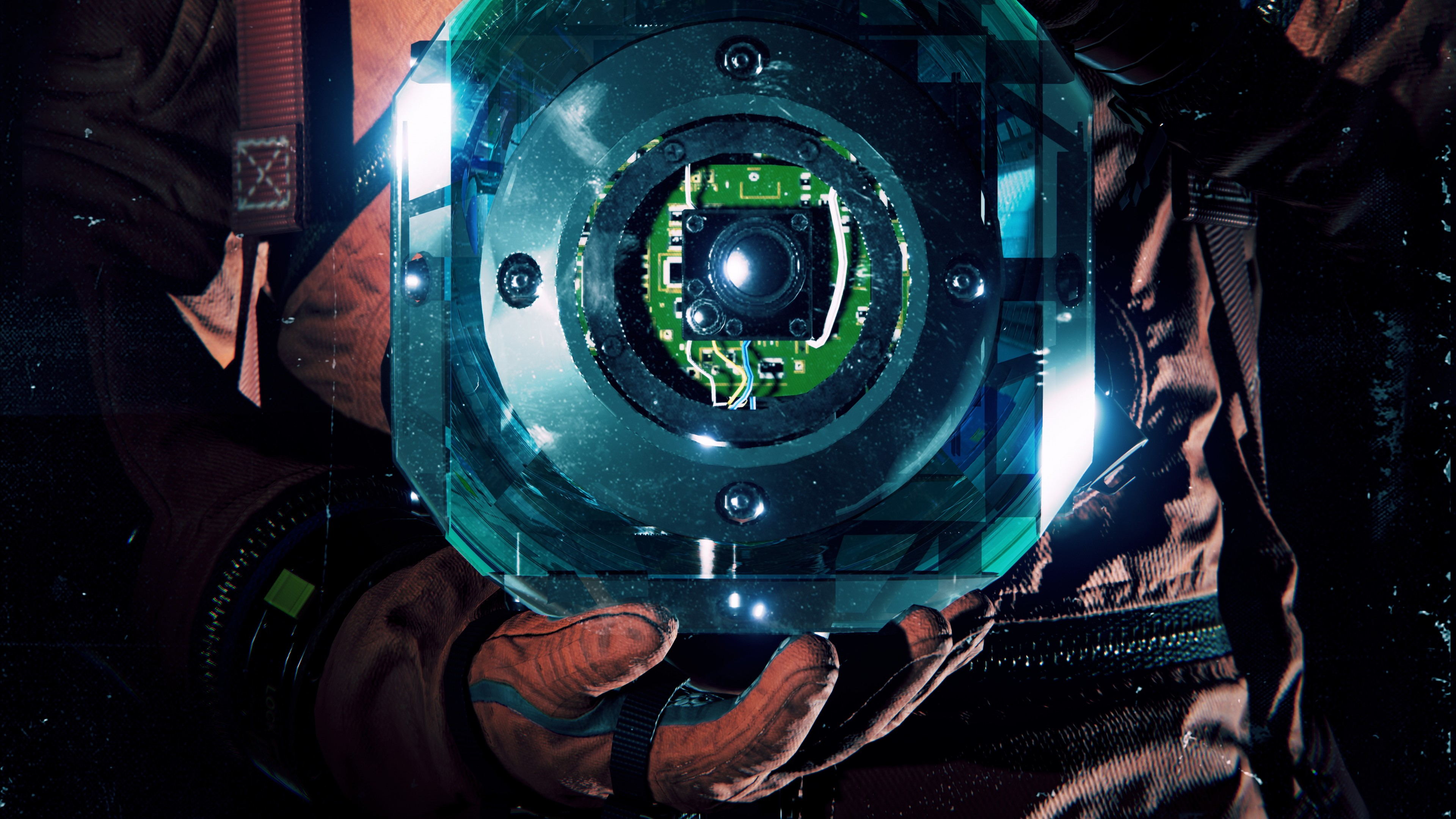 Wallpaper Observation poster 5K Games 21526 3840x2160