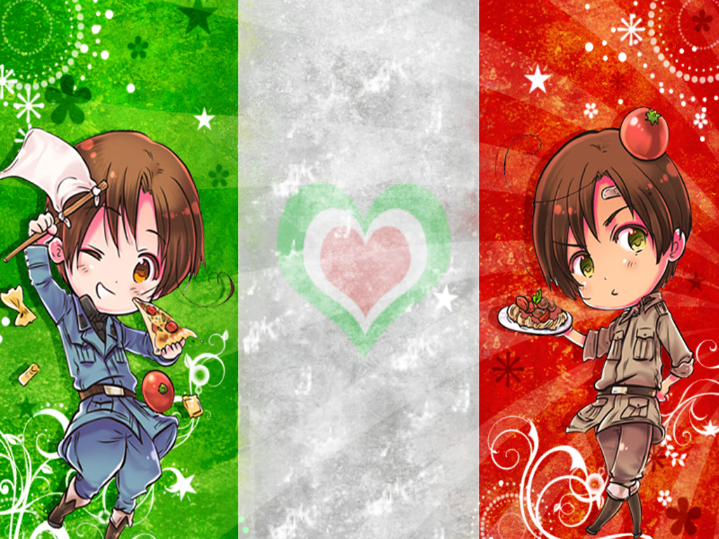 Hetalia North and South Italy by Shirayuki Arisu 1024x768