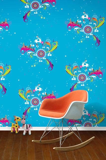 Fun at the Fair   Kids Wallpaper Ideas Designs houseandgardencouk 426x639
