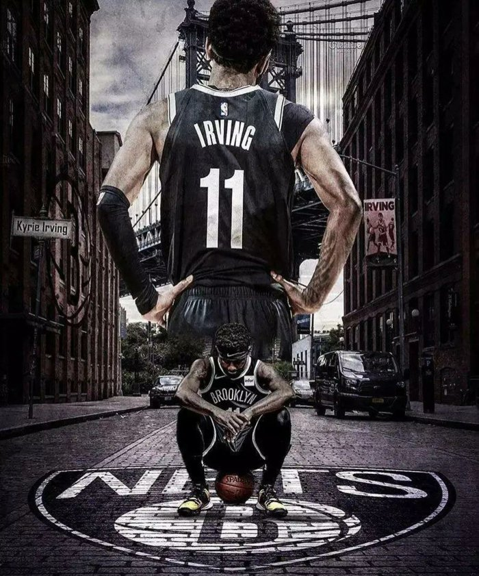 Kyrie Irving Wearing Brooklyn Nets Uniform Pictures   700x841 700x841
