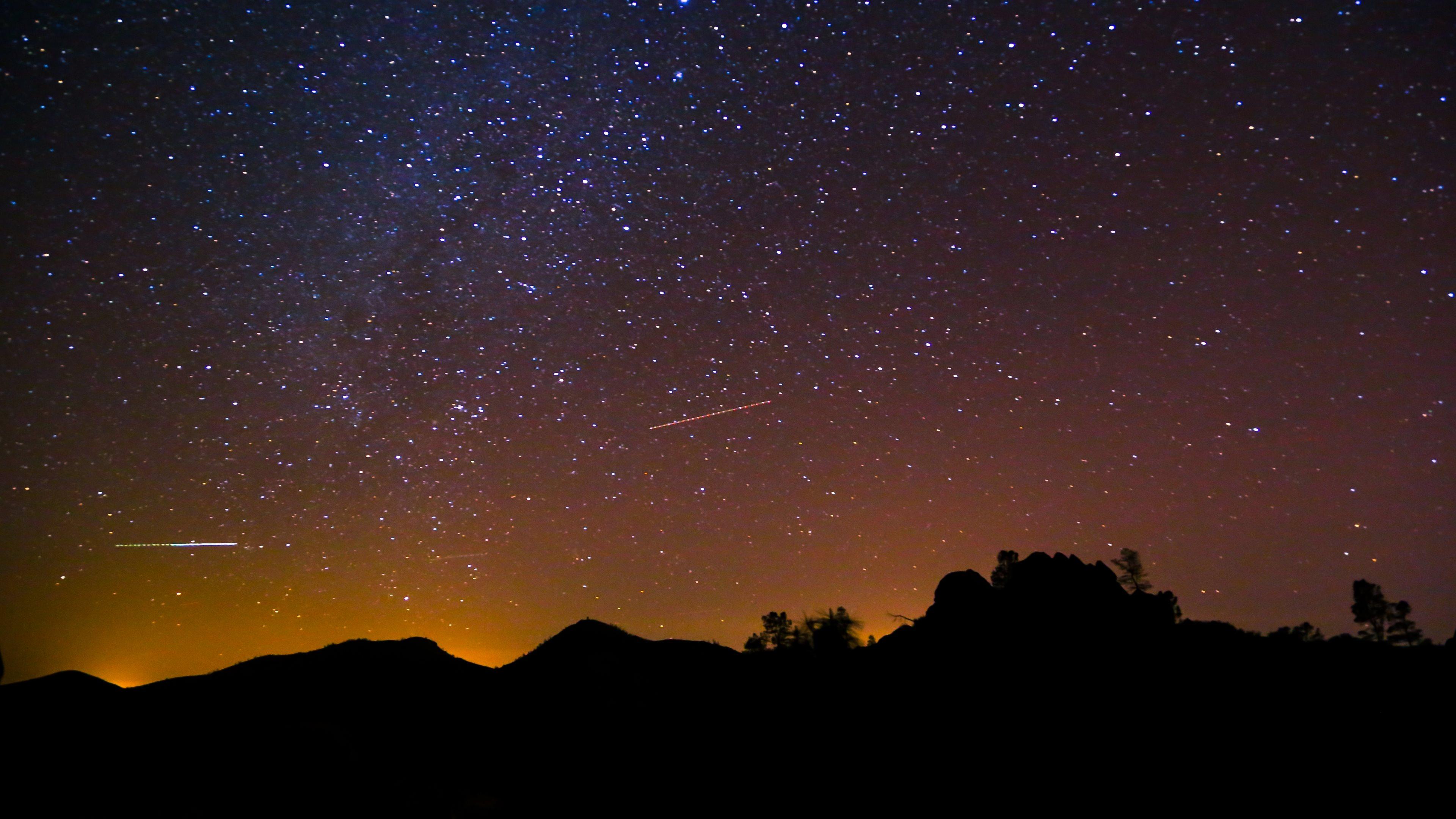 Milky Way Constellation on the Night Sky 3840x2160