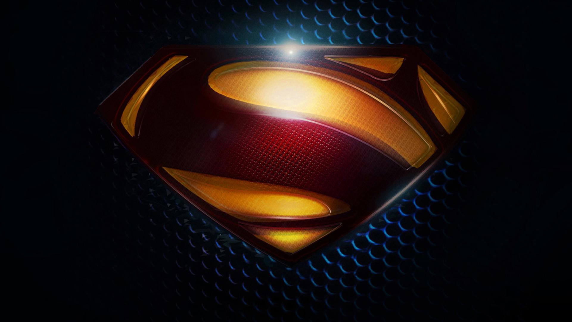 Dark Superman S Logo Wallpaper 19201080 fond ecran hd 1920x1080