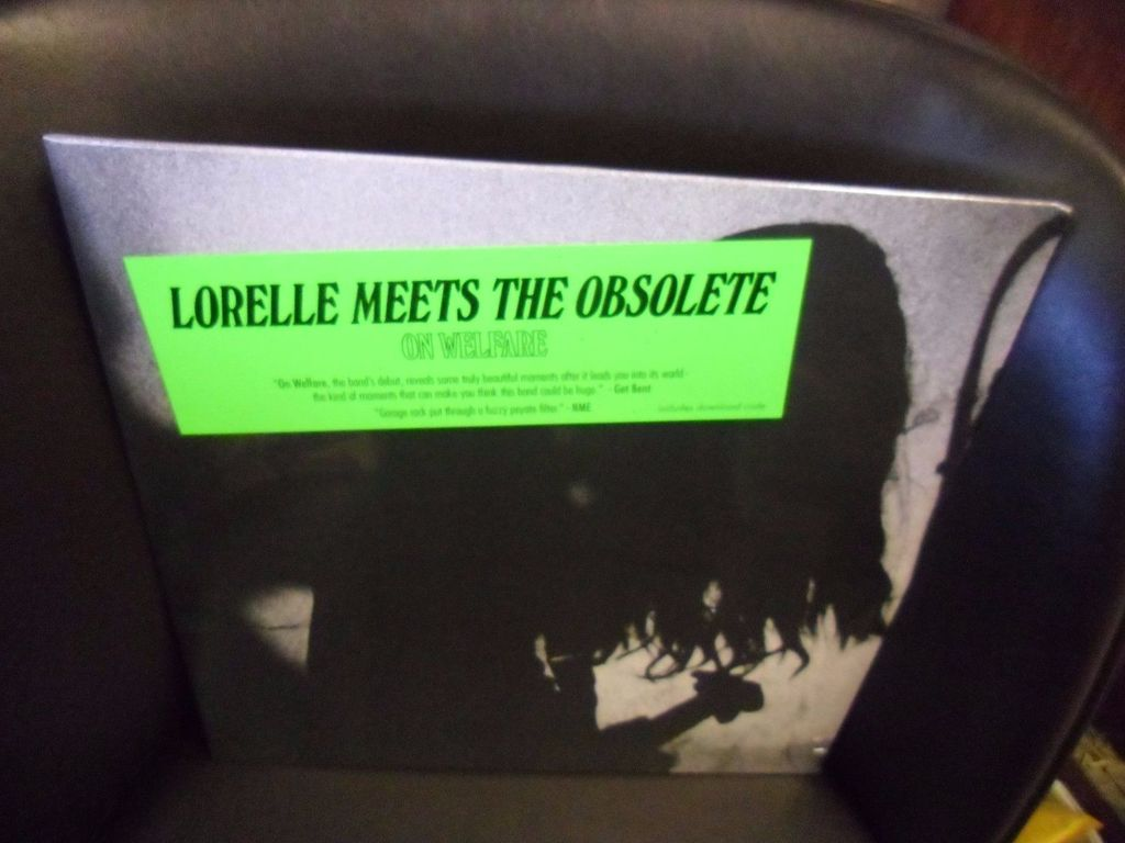 Lorelle Meets The Obsolute On Welfare LP NEW vinyl digital 1024x768