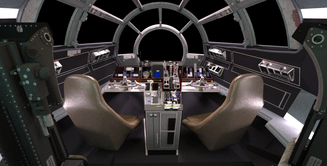 Falcon Cockpit, ESB (part 3)