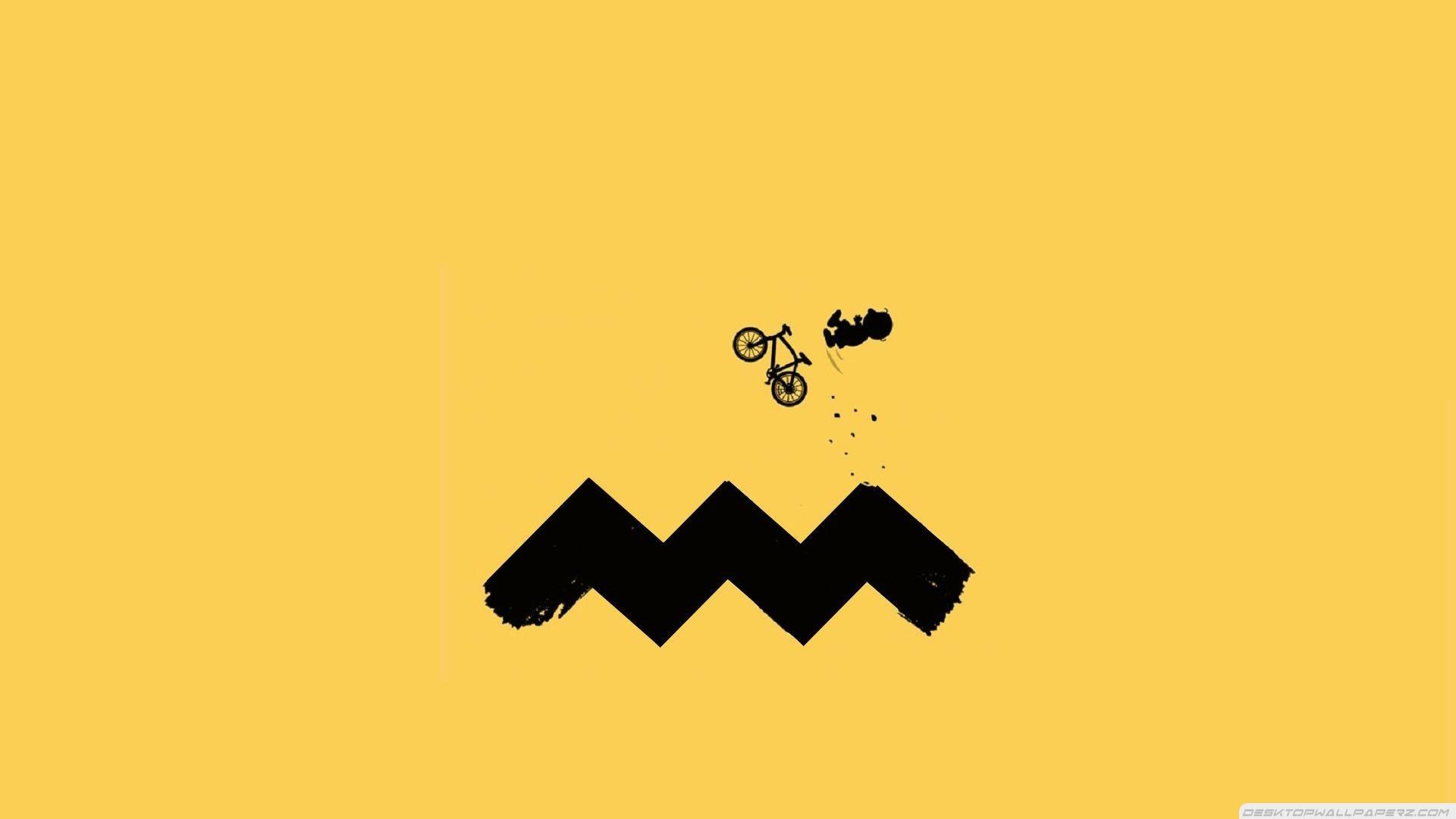 Minimalistic Funny Charlie Brown Cycling 19202151080 32476 1920x1080