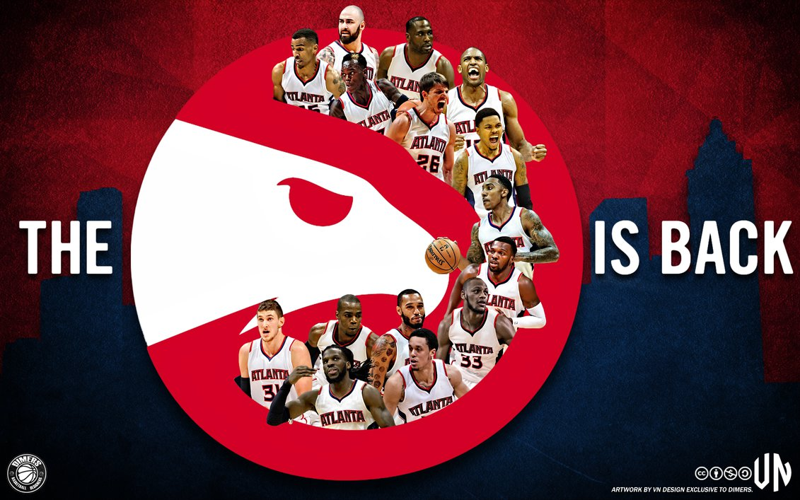 Atlanta Hawks The Pac Is Back by vndesign 1131x707