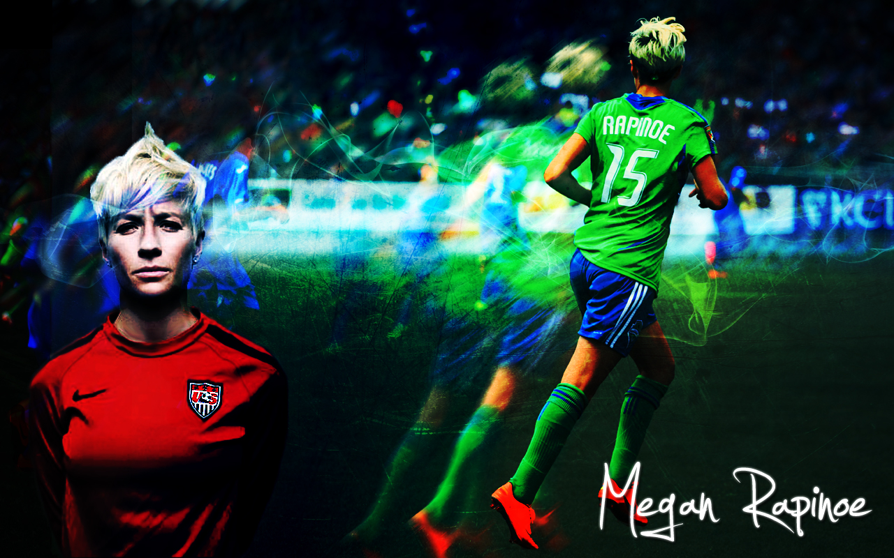 Megan Rapinoe Wallpaper by colormesnazzy 1280x800