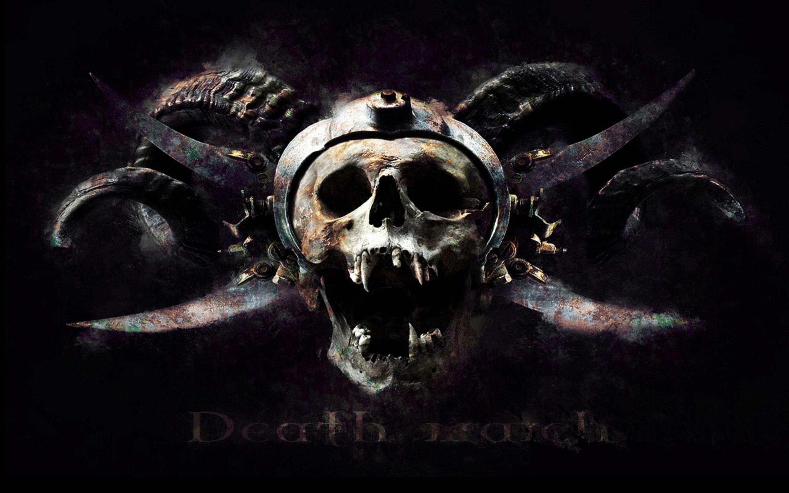 Metal music background - Skull Metal Wallpaper Skulls Metal Music Metalcamp
