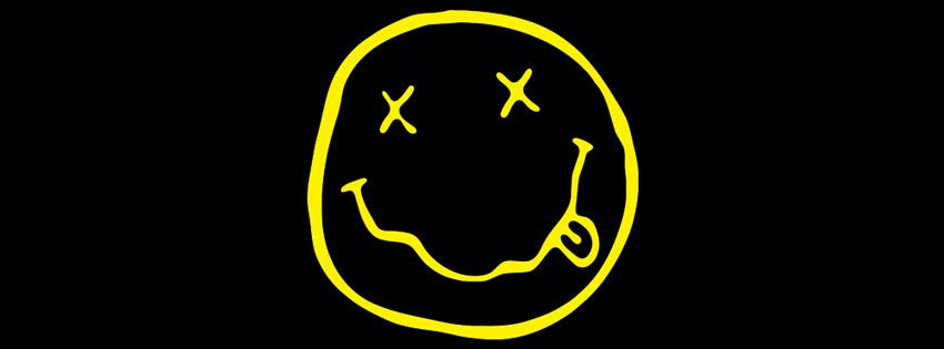 Nirvana Smiley Face FB Banner by Swerdsi 850x315