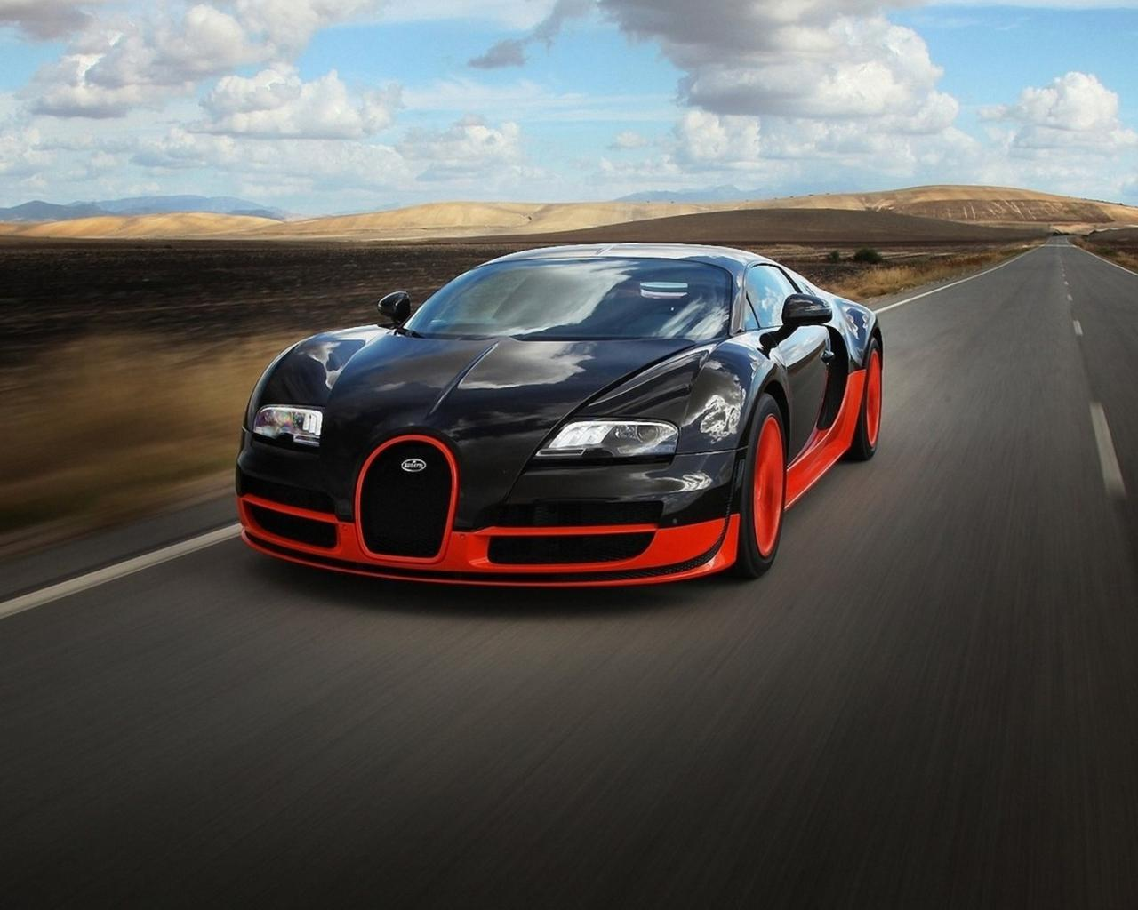Red Bugatti Veyron Wallpaper 6202 Hd Wallpapers in Cars   Imagescicom 1280x1024