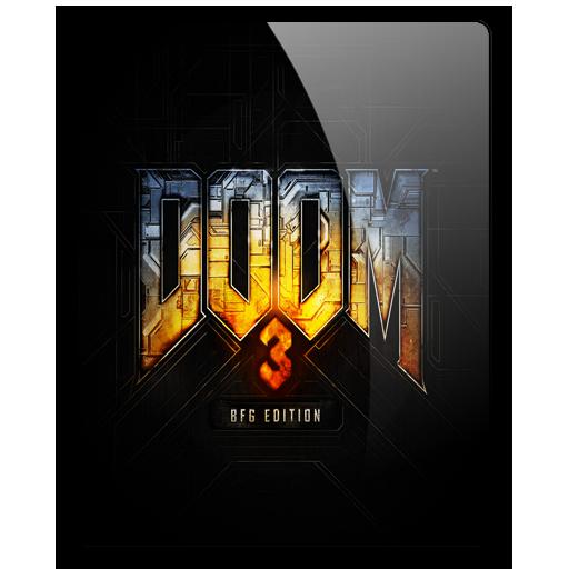 Doom 3 BFG Edition Icon by dylonji 512x512