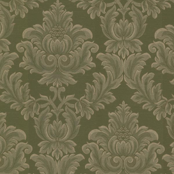 2601 20802 Green Damask   Oldham   Brocade Wallpaper By Mirage 600x600