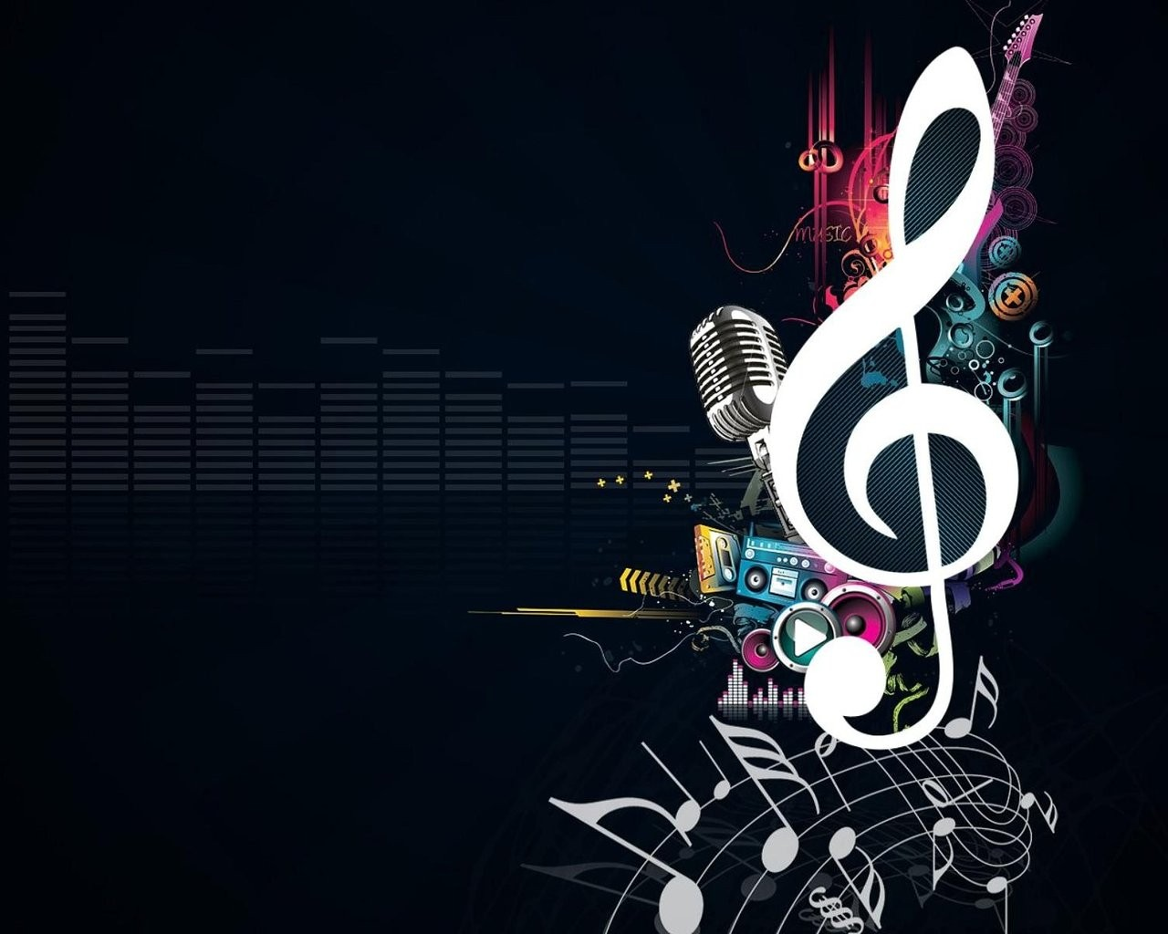 [76+] Cool Music Background Wallpapers On WallpaperSafari