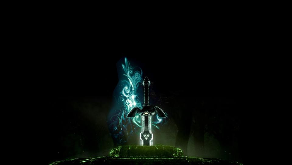 1080p Zelda Wallpaper: Master Sword HD Wallpaper