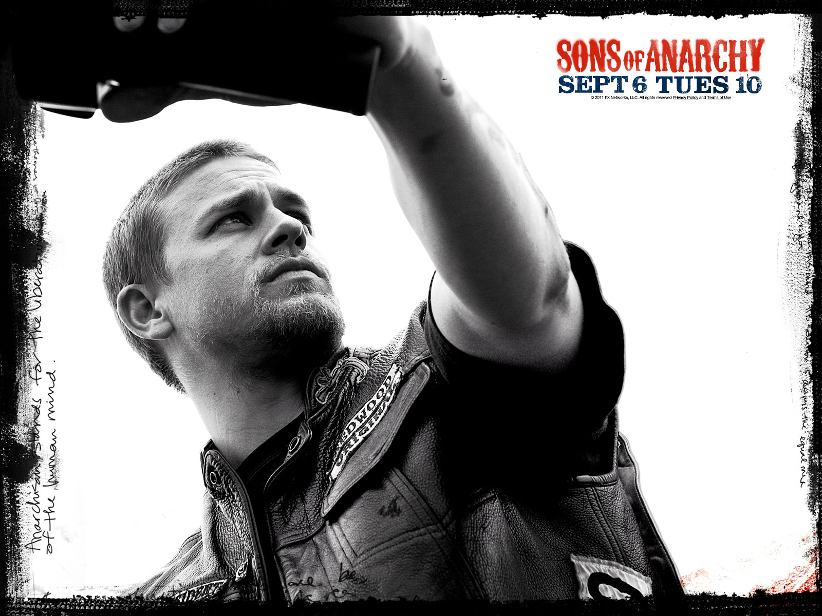 Charlie Hunnam Sons of Anarchy HD Desktop Wallpaper 1600x1200
