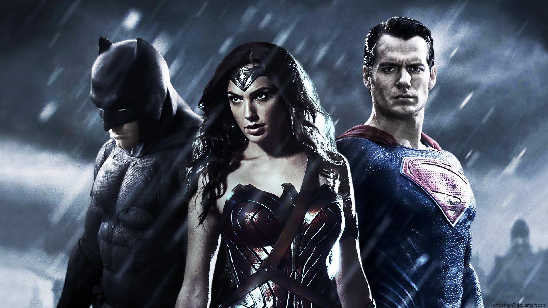 BATMAN v SUPERMAN adventure action batman superman dawn justice wonder 1920x1080