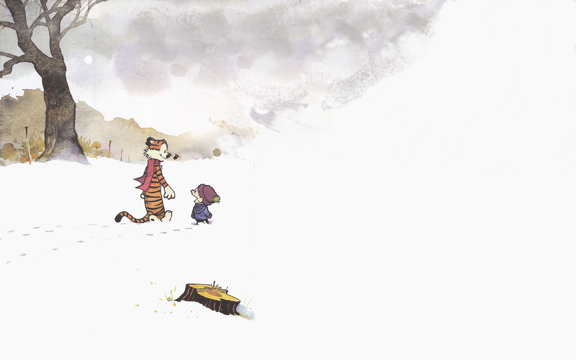 calvin and hobbes hd wallpaper color palette tags calvin and hobbes 1920x1200