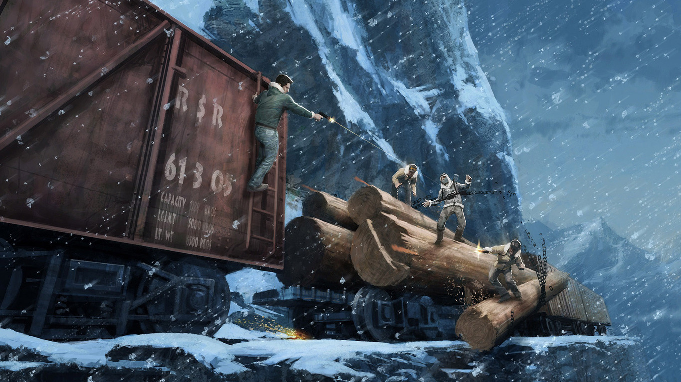 Uncharted 2   Among Thieves wallpaper 11050 1366x768