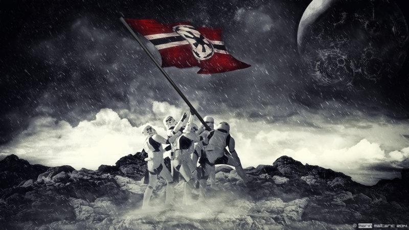74+] Iwo Jima Flag Raising Wallpaper on