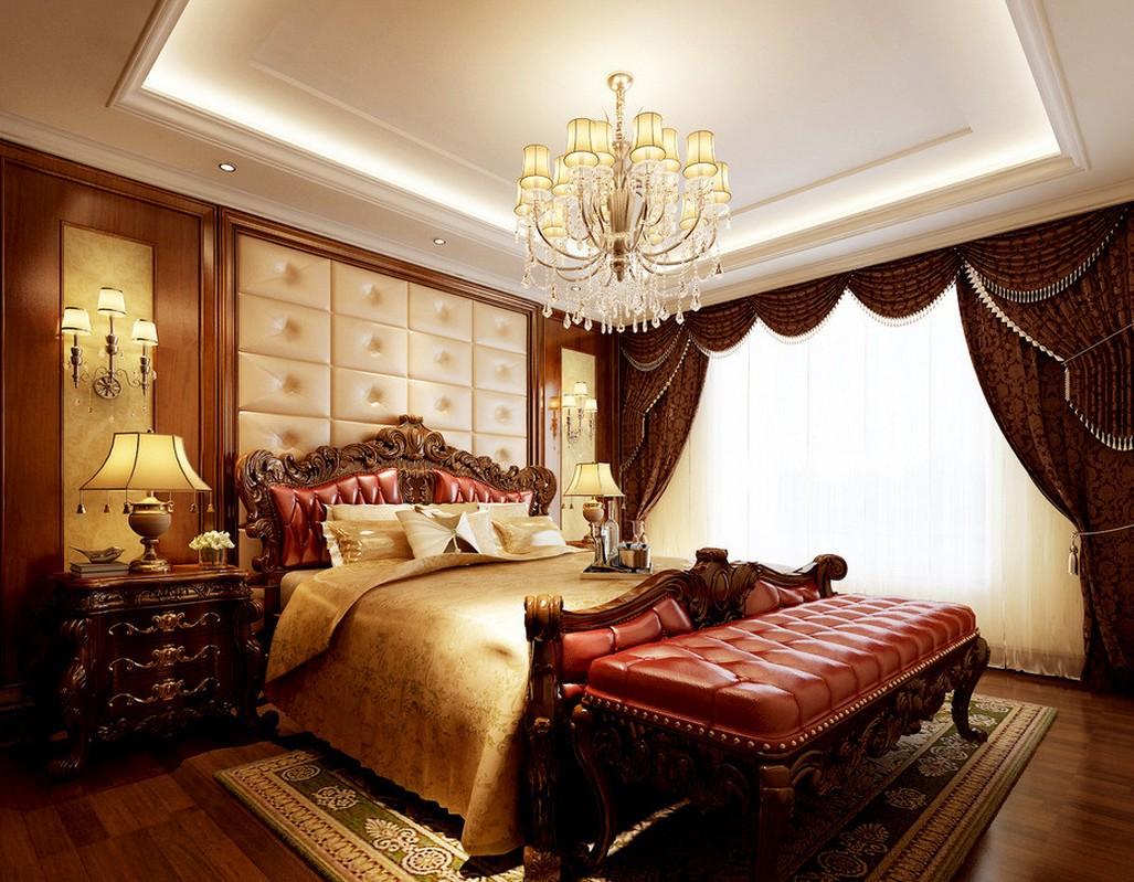 Australian interior design bedroom neoclassical 3D house 3D 1027x799
