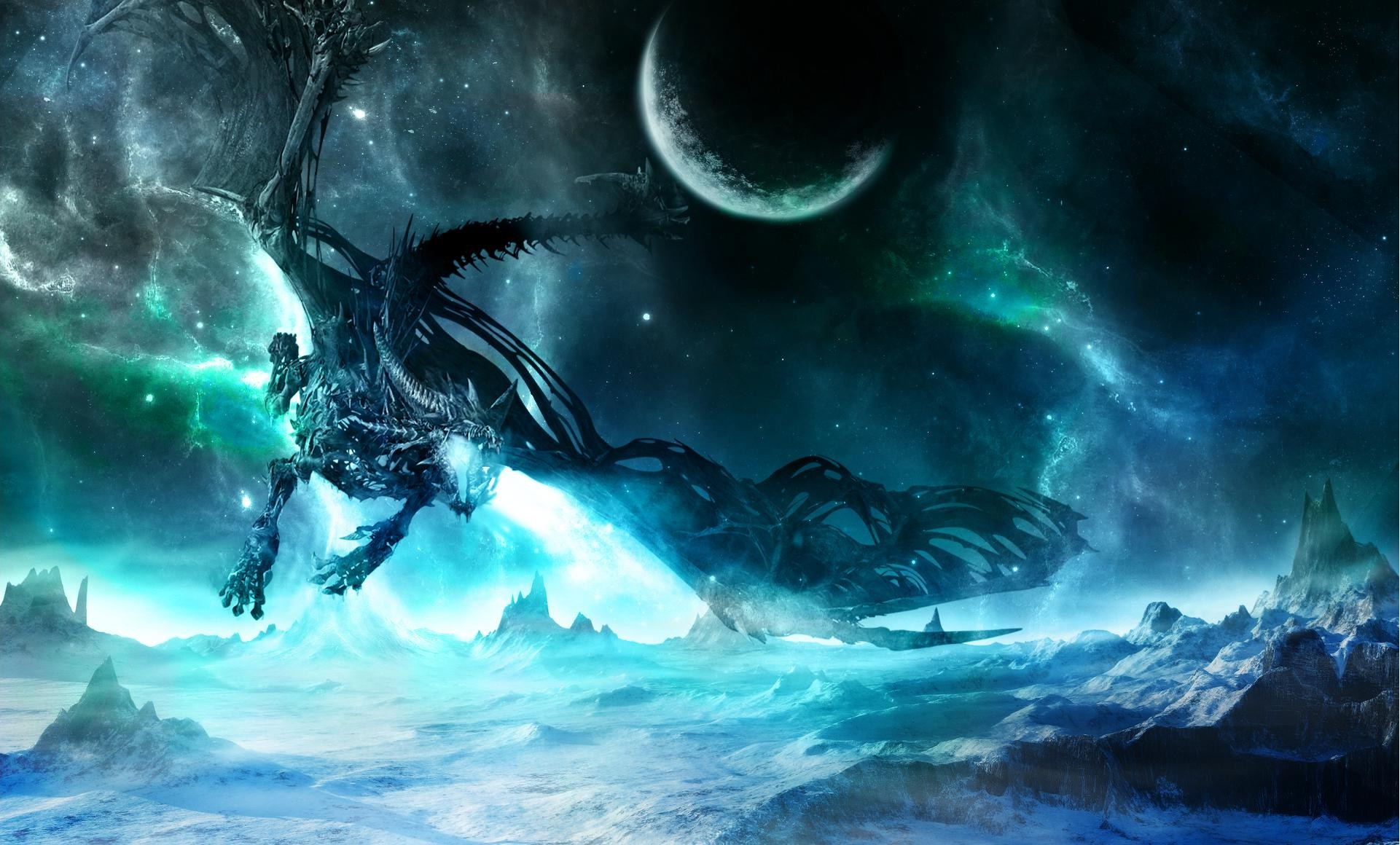 Free Download Space Dragon Wallpapers Hd Desktop And Mobile