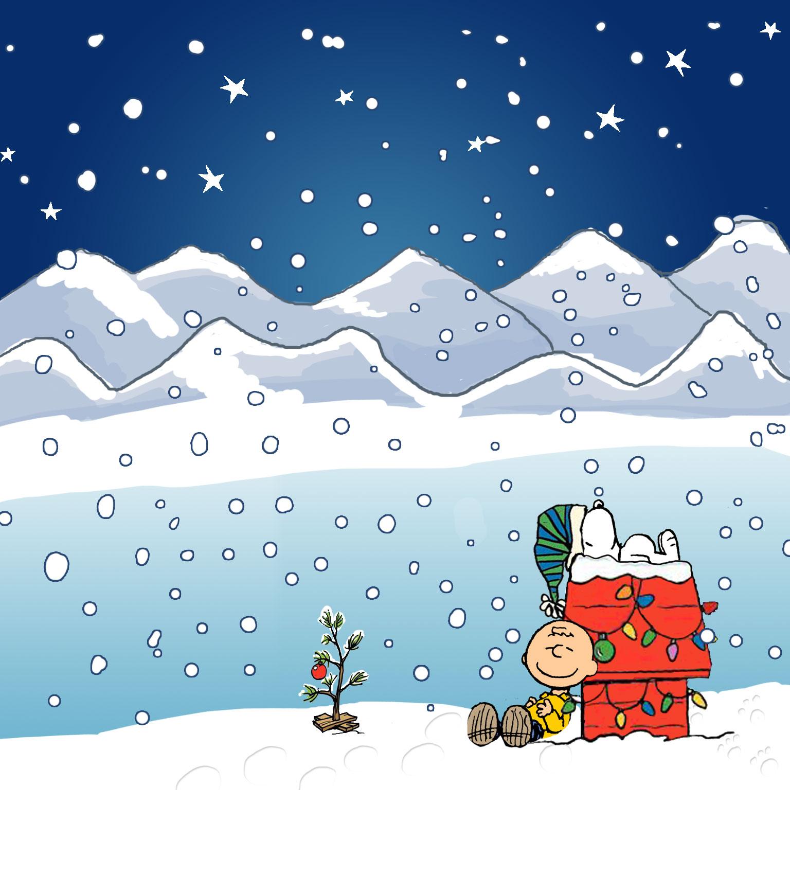 FREE CHARLIE BROWN CHRISTMAS WALLPAPER 1536x1703