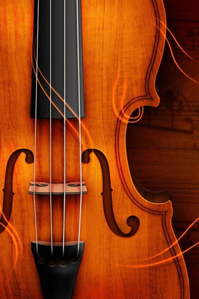 Beautiful Violin 640x960 HD Iphone 4 Wallpapers