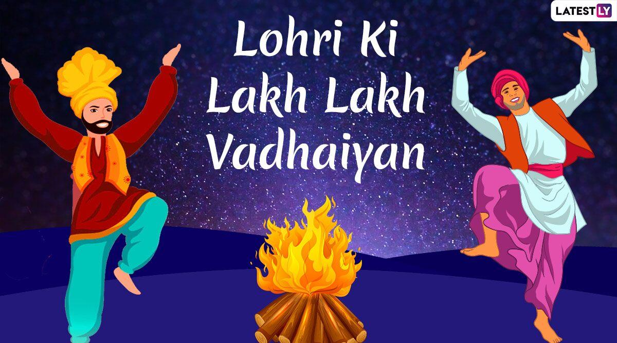 Happy Lohri 2020 HD Images and Wallpapers in Punjabi WhatsApp 1200x667