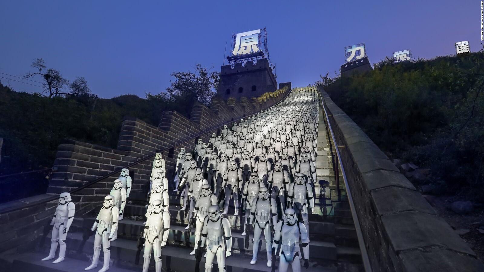 Star Wars The Force Awakens China poster racist   CNN 1600x900