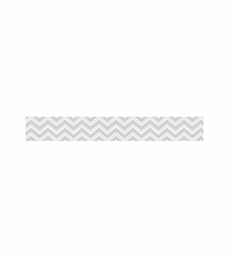 Sweet JoJo Designs Zig Zag Turquoise Grey Chevron Wallpaper Border 800x900