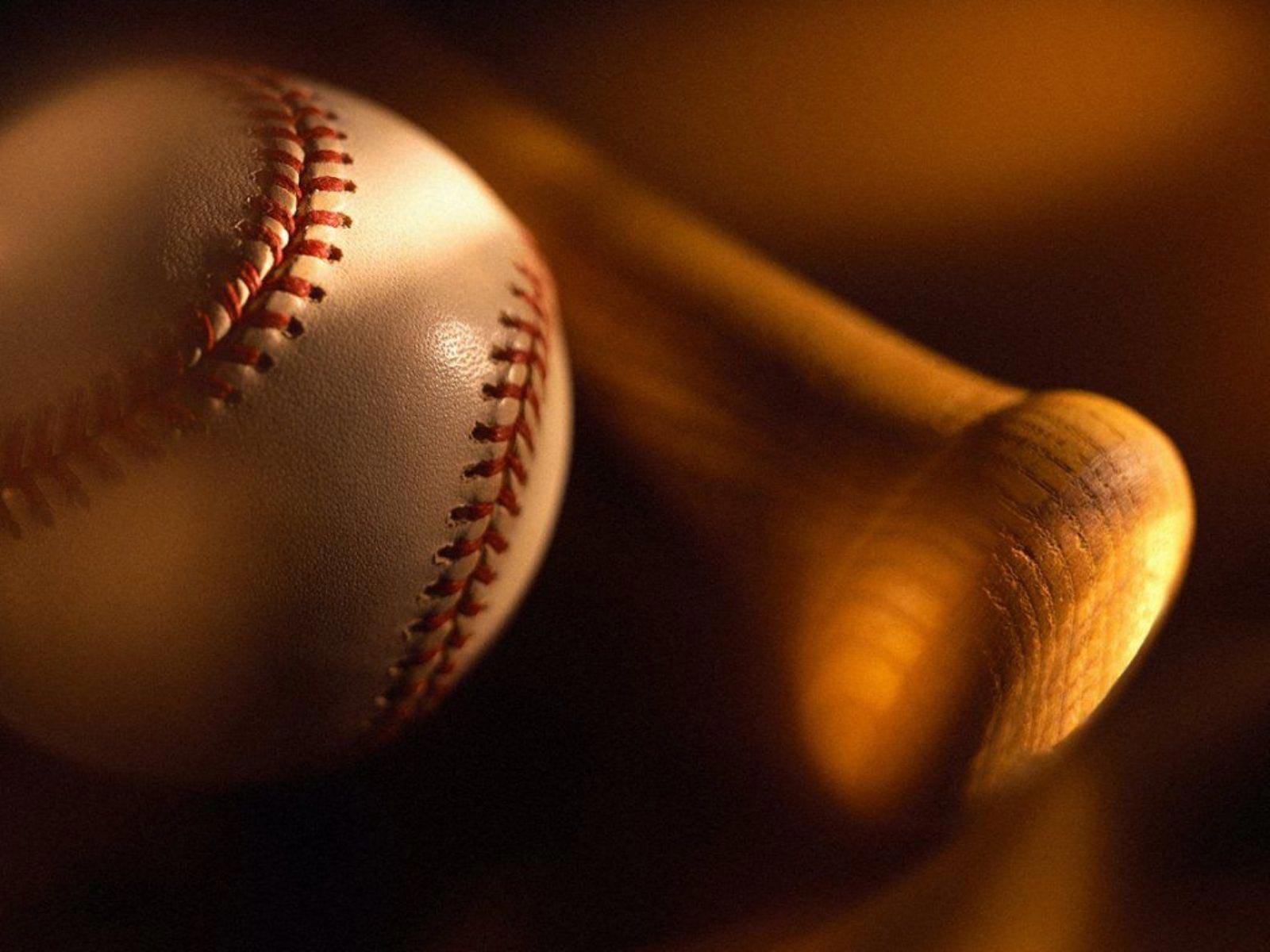 The best top desktop baseball wallpapers 4 baseball ball and batjpeg 1600x1200