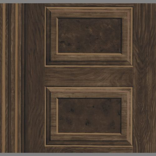 Wood Grain Faux Panel wallpaper AE2213 Clearance Wallpaper 500x500