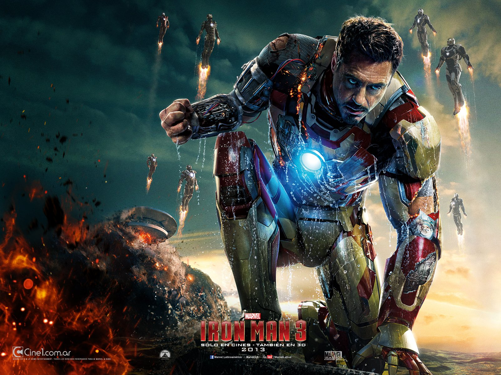 Wallpaper Iron Man 3 1600x1200 V8 Cine 1jpg 1600x1200
