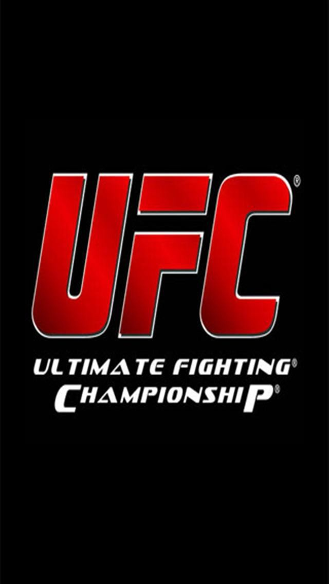 UFC LOGO iPhone Wallpapers iPhone 5s4s3G Wallpapers 640x1136